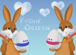 Wer sagt, dass Ostern den Eiern gehört? Liebe steht immer hoch im Kurs!